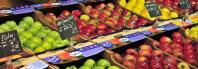 frutas en el supermercado