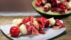 Melon Skewers