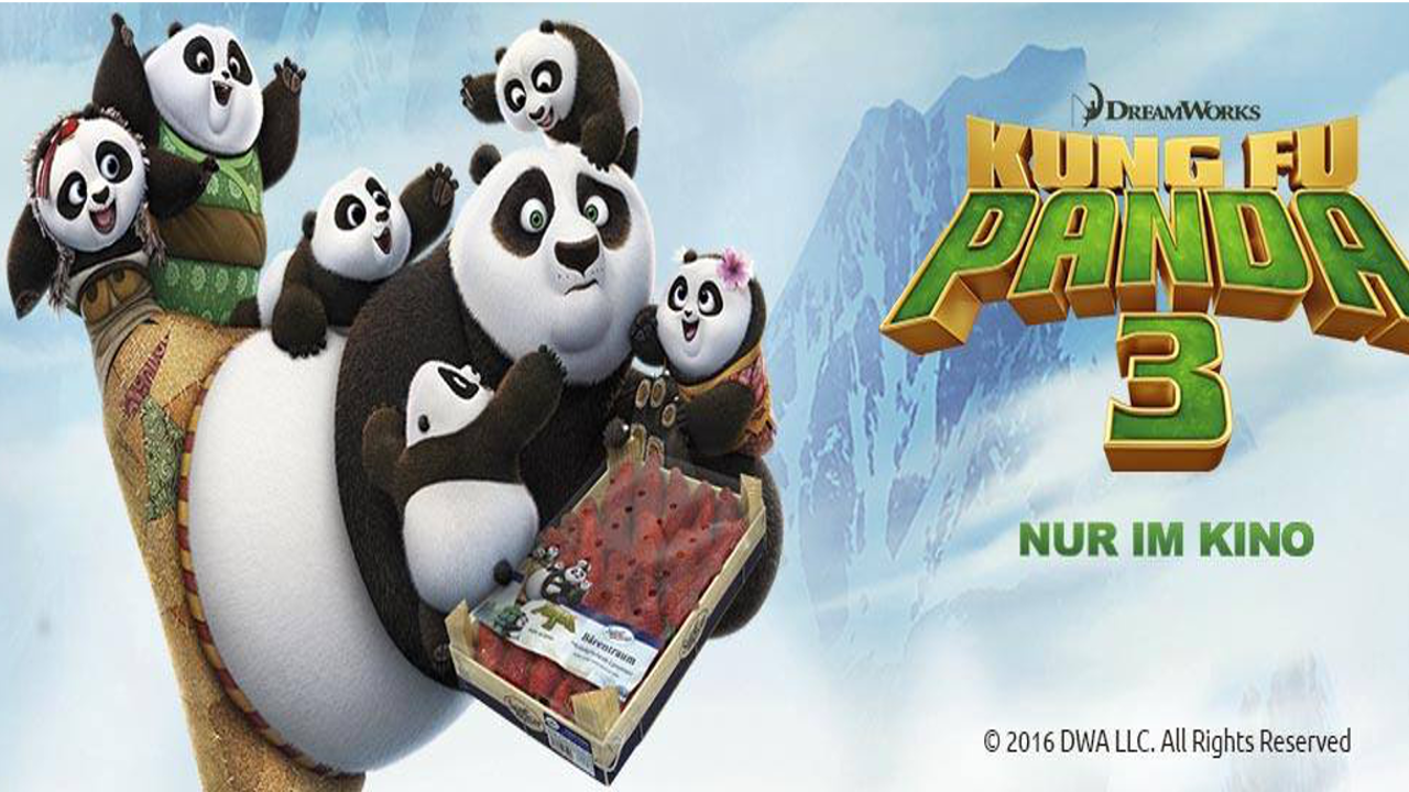 kung fu panda 3 joins fruit promotion - sanlucar
