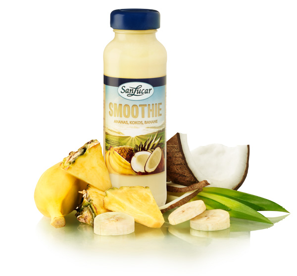 Ananas + Kokos + Banane