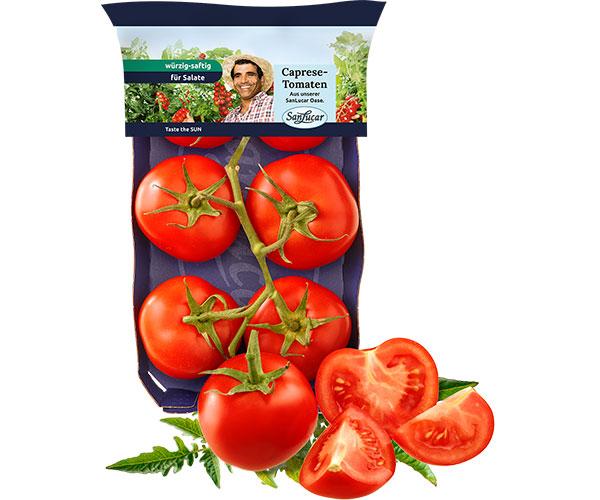 Caprese-Tomaten