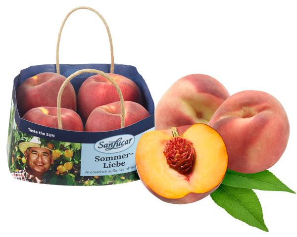 Pfirsiche Sommer-Liebe