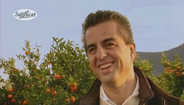 SanLucar Gründer Stephan Rötzer auf den Feldern der Llusars