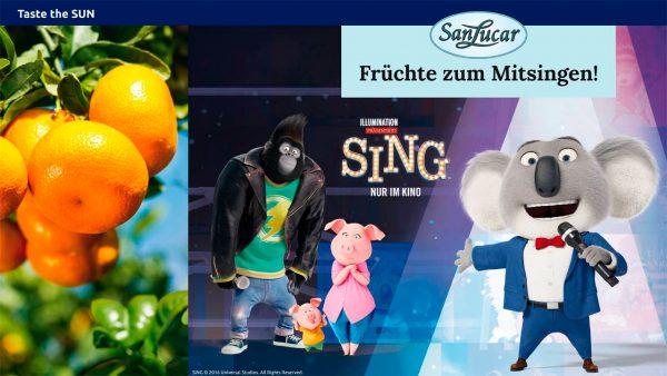 Sing! Singen, gewinnen und zum Echo Award fahren!