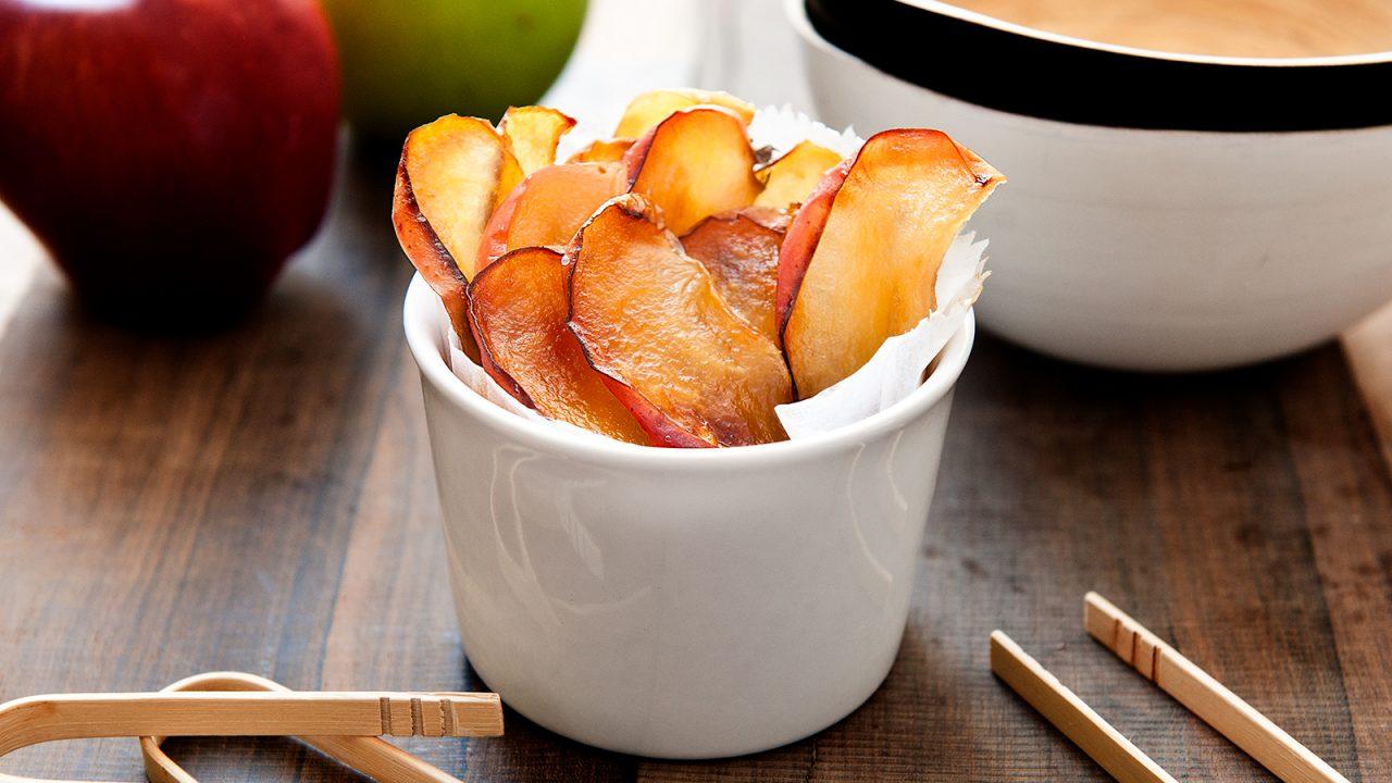 Knackige Apfelchips