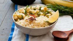 Bananen-Couscous-Salat