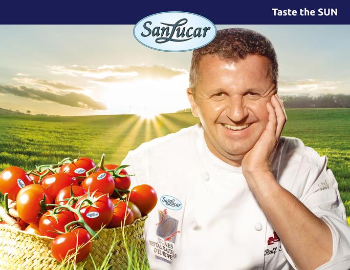 Kooperation von SanLucar und Sternekoch Rolf Straubinger