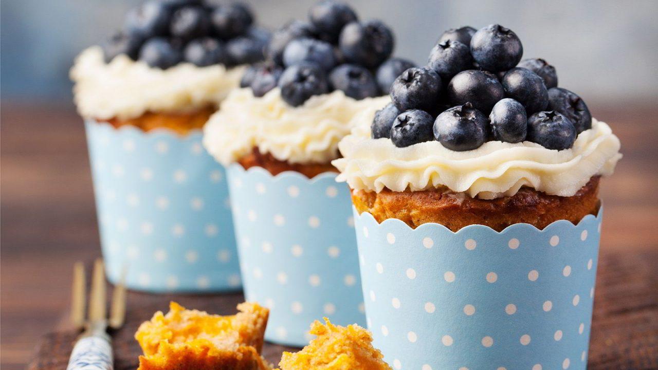 Omas Heidelbeer-Muffins