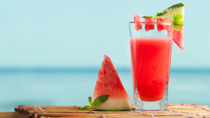 Wodka Melonen Smoothie