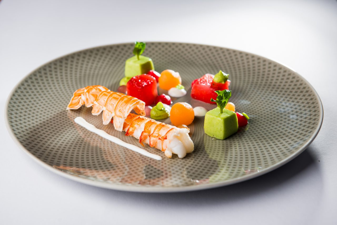 Colourful langoustine dream