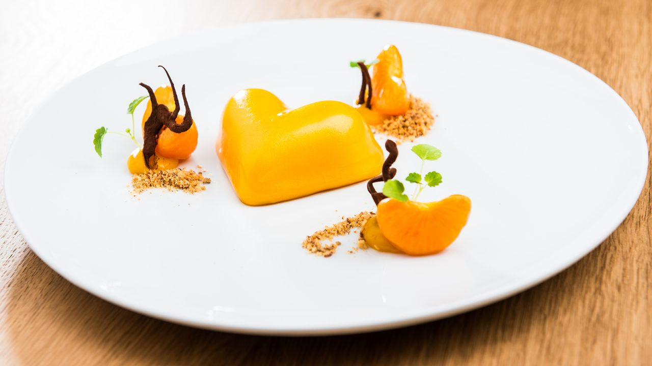 Mandarinen-Herz