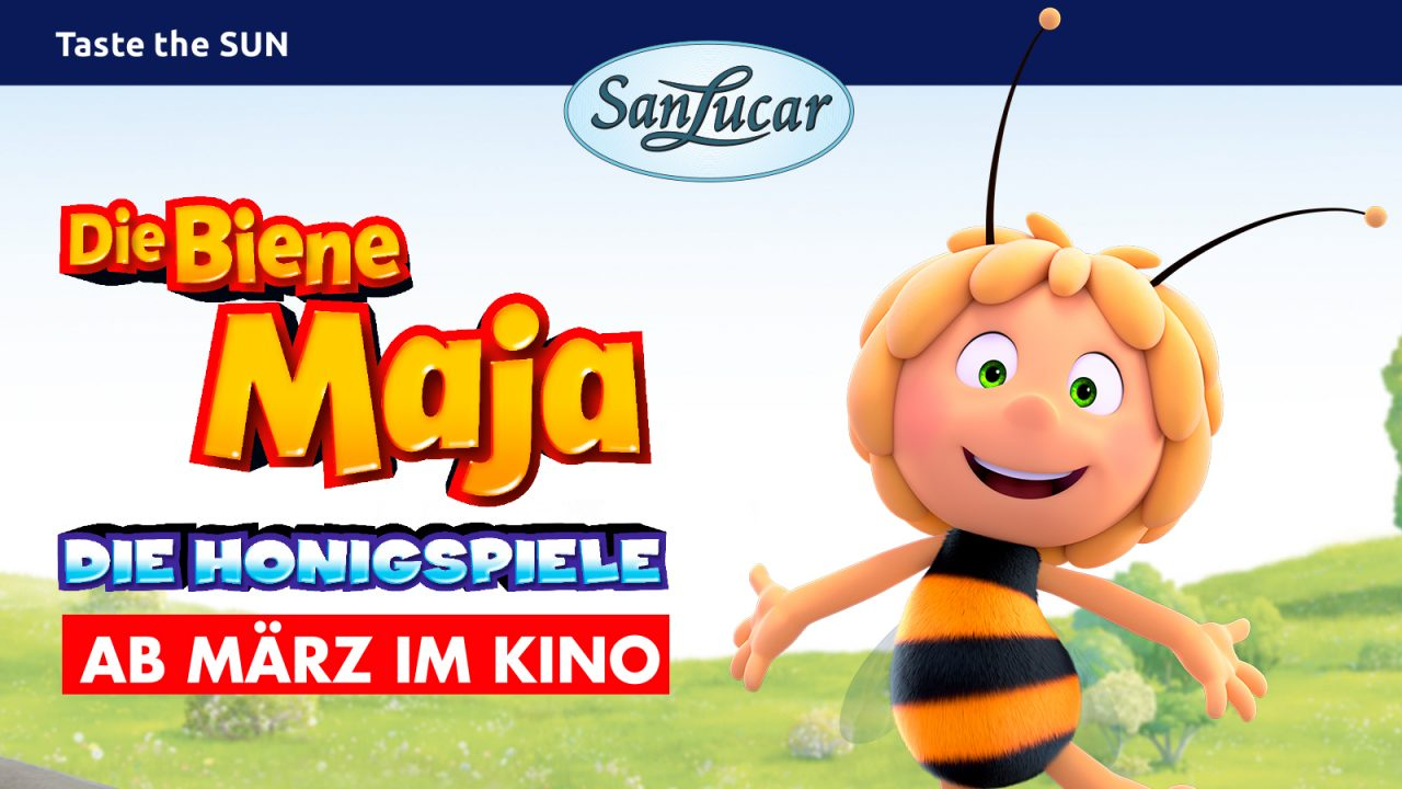 Fly to Seville with Maya the Bee