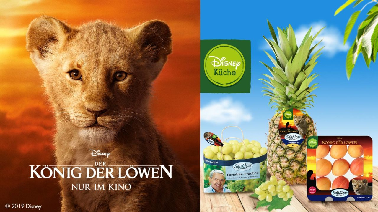 Travel with »The Lion King« to the sun