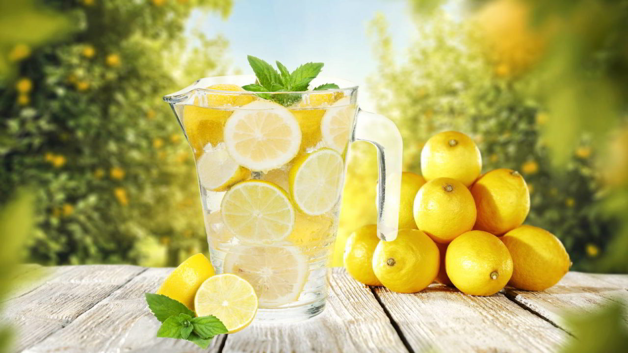 Our body-booster: Warm lemon water