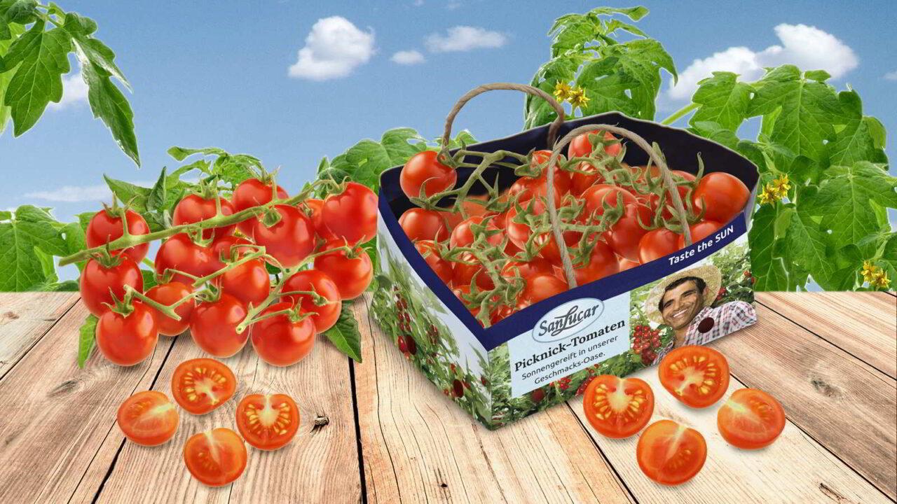 Sonnengereift: Tomaten in der Naturtüte