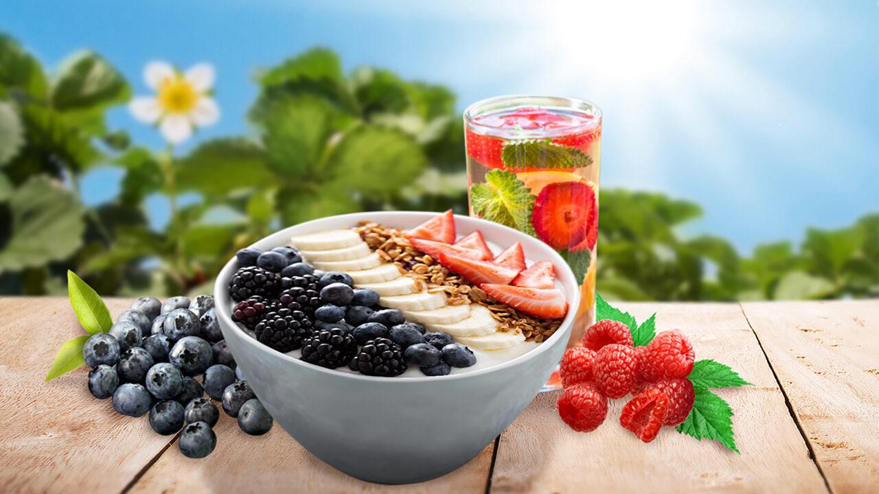 Fruta y verdura, energía para el cerebro