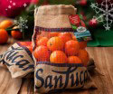 Clementinen im Jutesack