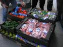 Obst und Gemuese fuer die Spenden
