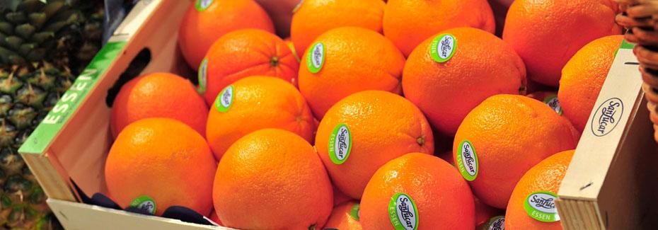 naranjas en su empaque